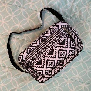 Aztec Print Travel Bag